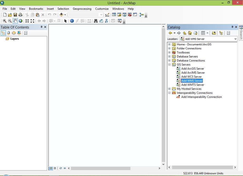 ArcGIS — GeoNode latest documentation