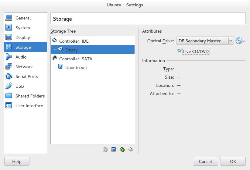 VM Setup with VirtualBox — GeoNode latest documentation